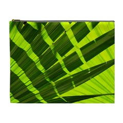 Frond Leaves Tropical Nature Plant Cosmetic Bag (xl)