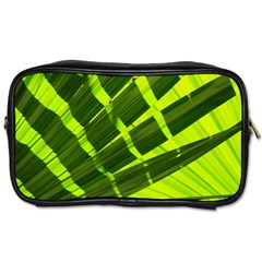 Frond Leaves Tropical Nature Plant Toiletries Bags 2 Side