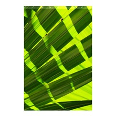 Frond Leaves Tropical Nature Plant Shower Curtain 48  X 72  (small)