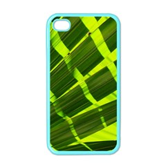 Frond Leaves Tropical Nature Plant Apple Iphone 4 Case (color)