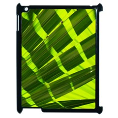 Frond Leaves Tropical Nature Plant Apple Ipad 2 Case (black)