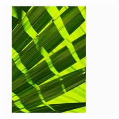 Frond Leaves Tropical Nature Plant Small Garden Flag (two Sides)
