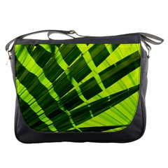 Frond Leaves Tropical Nature Plant Messenger Bags