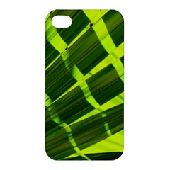 Frond Leaves Tropical Nature Plant Apple Iphone 4/4s Premium Hardshell Case