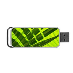 Frond Leaves Tropical Nature Plant Portable USB Flash (One Side)
