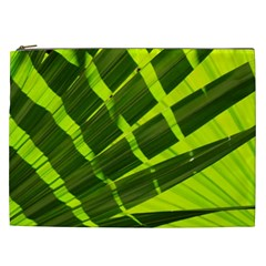 Frond Leaves Tropical Nature Plant Cosmetic Bag (xxl)