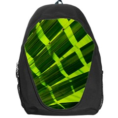 Frond Leaves Tropical Nature Plant Backpack Bag