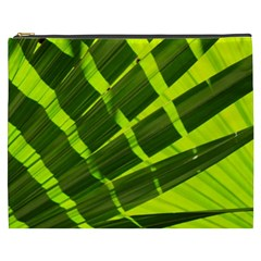 Frond Leaves Tropical Nature Plant Cosmetic Bag (xxxl)