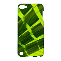 Frond Leaves Tropical Nature Plant Apple Ipod Touch 5 Hardshell Case