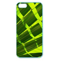 Frond Leaves Tropical Nature Plant Apple Seamless Iphone 5 Case (color)