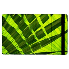 Frond Leaves Tropical Nature Plant Apple Ipad 3/4 Flip Case