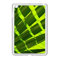 Frond Leaves Tropical Nature Plant Apple Ipad Mini Case (white)