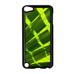 Frond Leaves Tropical Nature Plant Apple Ipod Touch 5 Case (black)