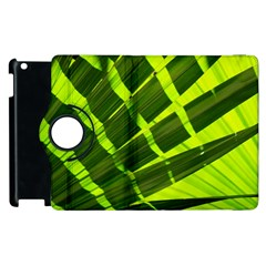 Frond Leaves Tropical Nature Plant Apple Ipad 3/4 Flip 360 Case