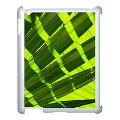 Frond Leaves Tropical Nature Plant Apple Ipad 3/4 Case (white)