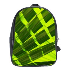 Frond Leaves Tropical Nature Plant School Bags (xl)