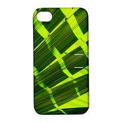 Frond Leaves Tropical Nature Plant Apple iPhone 4/4S Hardshell Case with Stand