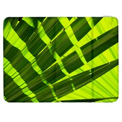 Frond Leaves Tropical Nature Plant Samsung Galaxy Tab 7  P1000 Flip Case