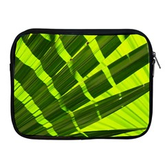 Frond Leaves Tropical Nature Plant Apple Ipad 2/3/4 Zipper Cases
