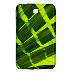 Frond Leaves Tropical Nature Plant Samsung Galaxy Tab 3 (7 ) P3200 Hardshell Case
