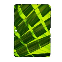 Frond Leaves Tropical Nature Plant Samsung Galaxy Tab 2 (10 1 ) P5100 Hardshell Case
