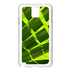 Frond Leaves Tropical Nature Plant Samsung Galaxy Note 3 N9005 Case (white)