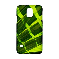 Frond Leaves Tropical Nature Plant Samsung Galaxy S5 Hardshell Case