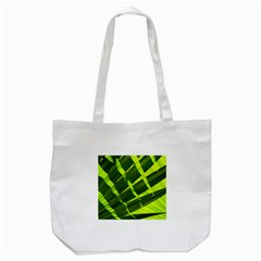 Frond Leaves Tropical Nature Plant Tote Bag (white)