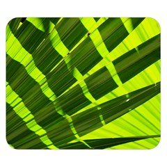 Frond Leaves Tropical Nature Plant Double Sided Flano Blanket (small)