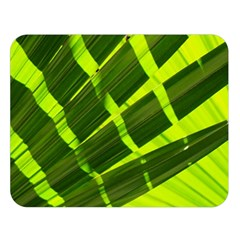 Frond Leaves Tropical Nature Plant Double Sided Flano Blanket (large)