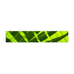 Frond Leaves Tropical Nature Plant Flano Scarf (mini)