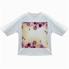 Floral Background Infant/Toddler T-Shirts