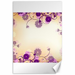 Floral Background Canvas 20  X 30