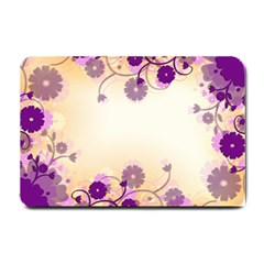 Floral Background Small Doormat
