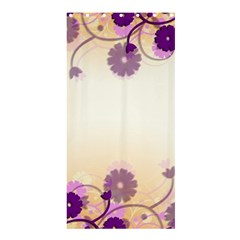 Floral Background Shower Curtain 36  X 72  (stall)