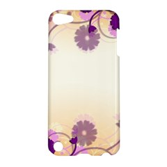 Floral Background Apple Ipod Touch 5 Hardshell Case