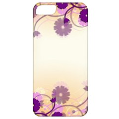 Floral Background Apple Iphone 5 Classic Hardshell Case