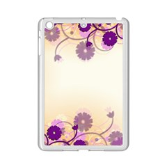 Floral Background Ipad Mini 2 Enamel Coated Cases