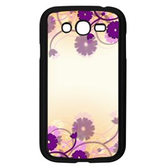 Floral Background Samsung Galaxy Grand Duos I9082 Case (black)
