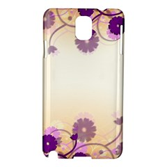 Floral Background Samsung Galaxy Note 3 N9005 Hardshell Case