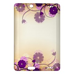 Floral Background Amazon Kindle Fire Hd (2013) Hardshell Case