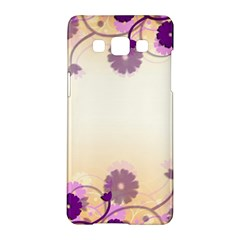 Floral Background Samsung Galaxy A5 Hardshell Case
