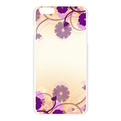 Floral Background Apple Seamless iPhone 6 Plus/6S Plus Case (Transparent)