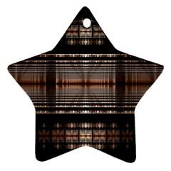 Fractal Art Design Geometry Ornament (star)