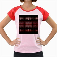 Fractal Art Design Geometry Women s Cap Sleeve T Shirt
