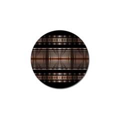 Fractal Art Design Geometry Golf Ball Marker (4 Pack)