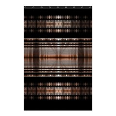 Fractal Art Design Geometry Shower Curtain 48  X 72  (small)