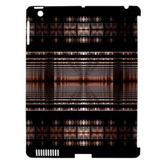 Fractal Art Design Geometry Apple Ipad 3/4 Hardshell Case (compatible With Smart Cover)