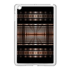 Fractal Art Design Geometry Apple Ipad Mini Case (white)