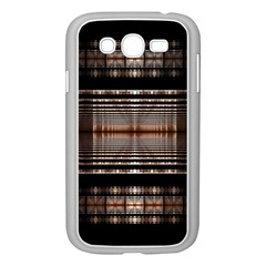 Fractal Art Design Geometry Samsung Galaxy Grand Duos I9082 Case (white)